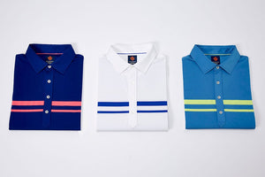 Donald Ross Sport Micro Chest Stripes Jersey