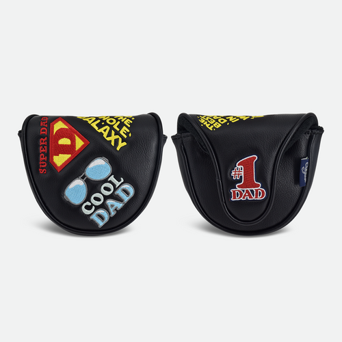 PRG Originals, Super Dad, Mallet Putter Cover - Black