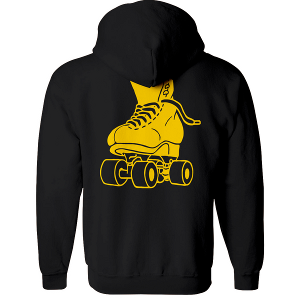 Just Skate Hoodie - rob-scott-creates-original-rollers