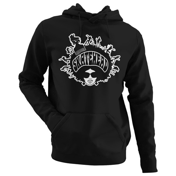 Skatehead Hoodie Women - rob-scott-creates-original-rollers