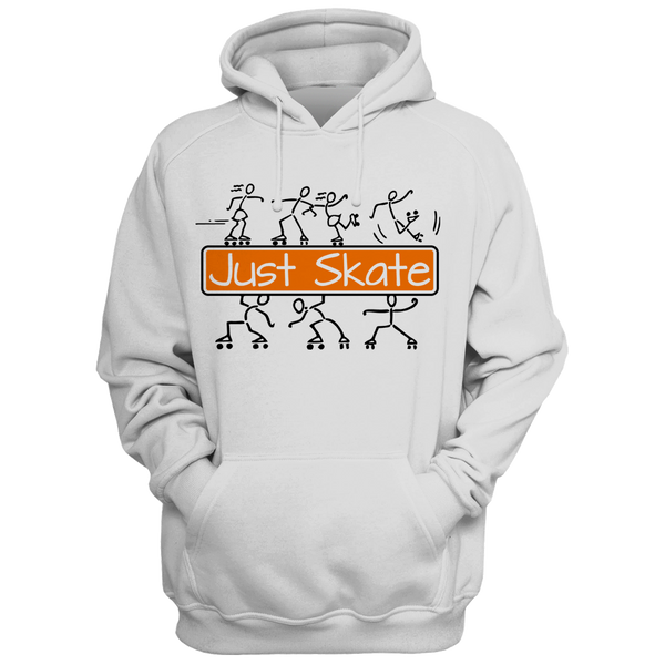 Just Skate 2 Hoodie - rob-scott-creates-original-rollers
