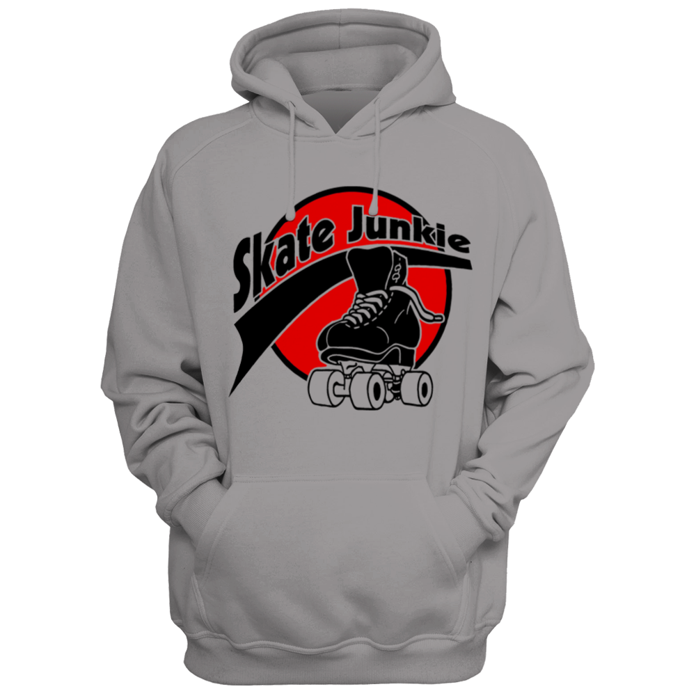 Skate Junkie Hoodie - rob-scott-creates-original-rollers