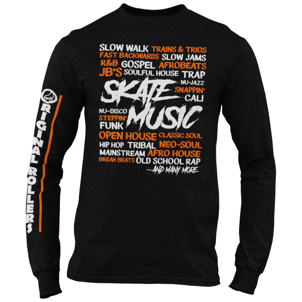 Skate Music Long Sleeve T-shirt
