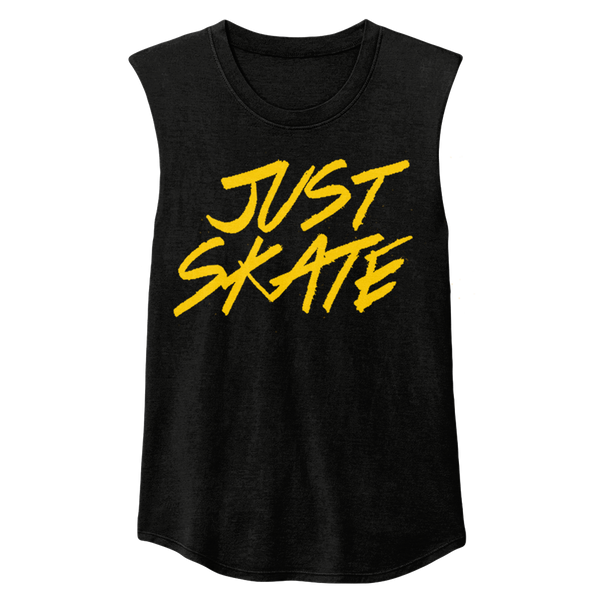 Just Skate Sleeveless - rob-scott-creates-original-rollers