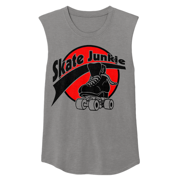 Skate Junkie Sleeveless - rob-scott-creates-original-rollers