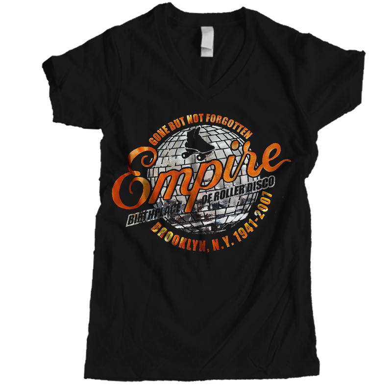 Empire Women Vneck - rob-scott-creates-original-rollers