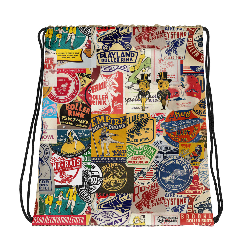 Old Rinks Drawstring bag