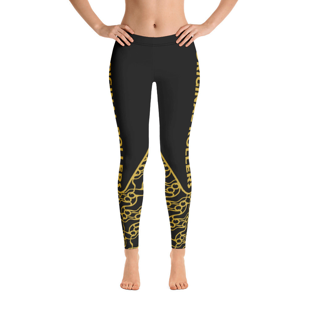 Skate Pattern Leggings