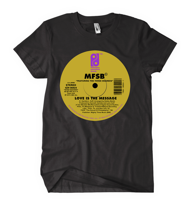 MFSB Love is the Message Women's t-shirt