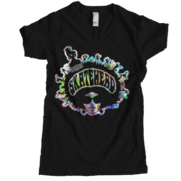 Skatehead Women Spectrum V-neck - rob-scott-creates-original-rollers