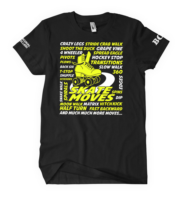Skate Music Orange Metallic Women T-shirt