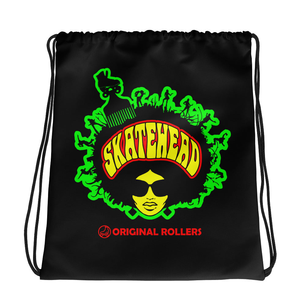 Skatehead Woman Drawstring bag