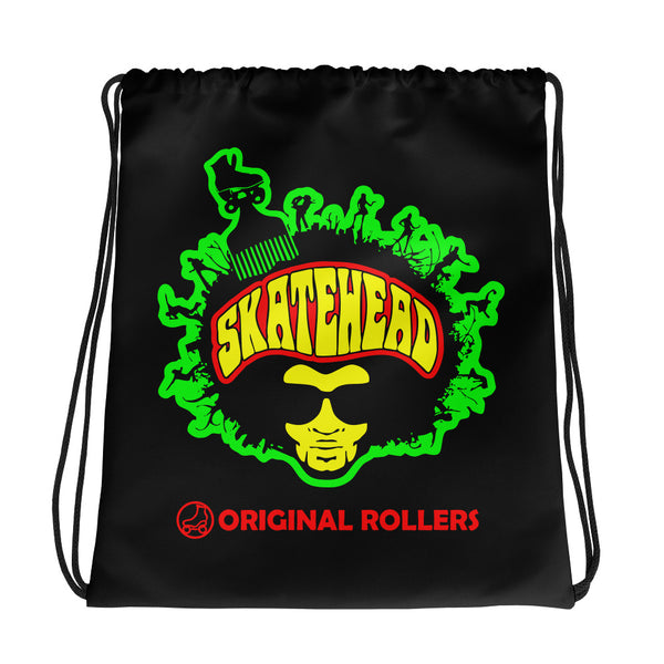 Skatehead man Drawstring bag