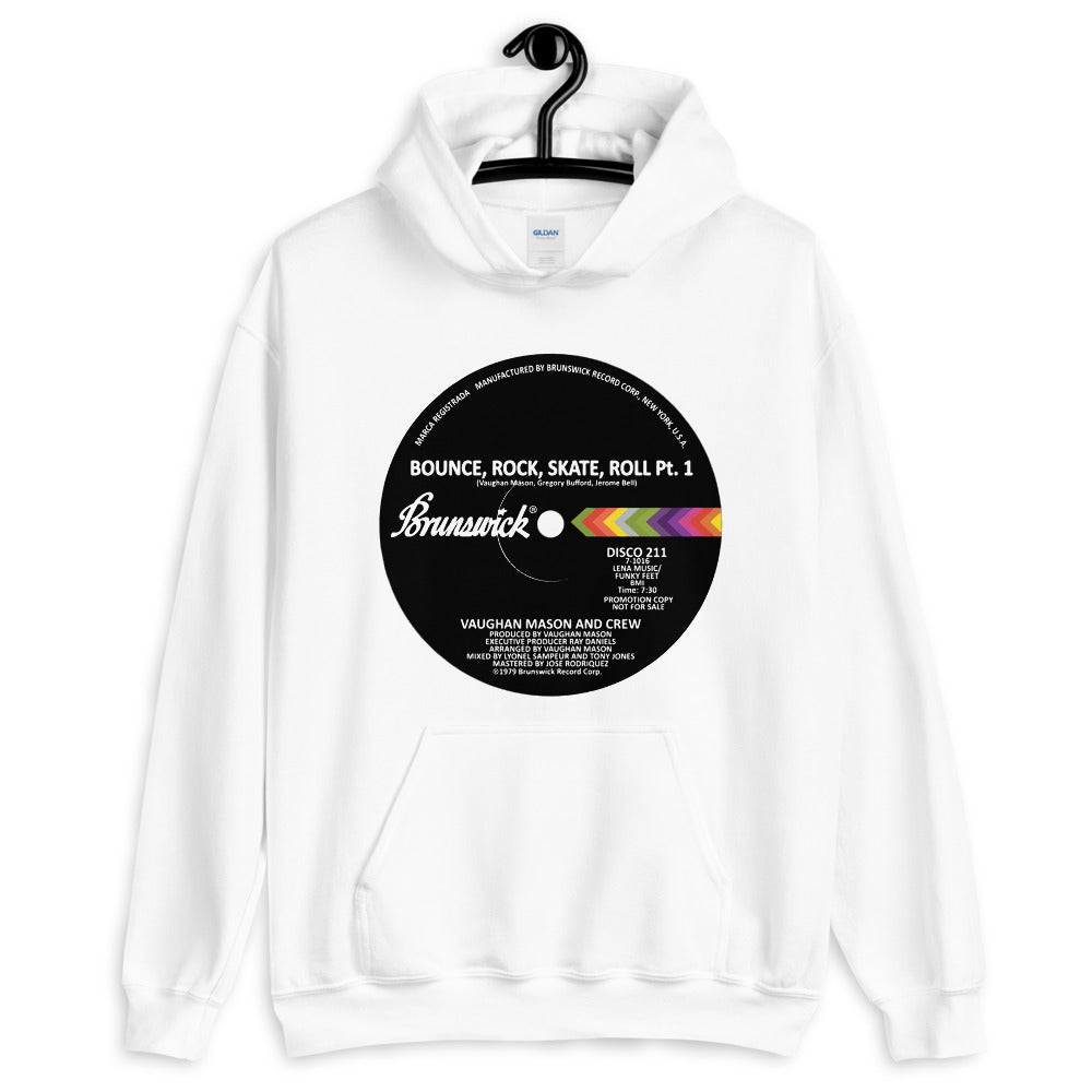 Bounce Rock Skate Roll Light Unisex Hoodie