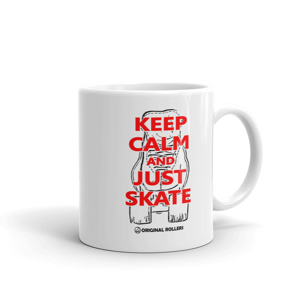 Keep Calm Mug - rob-scott-creates-original-rollers