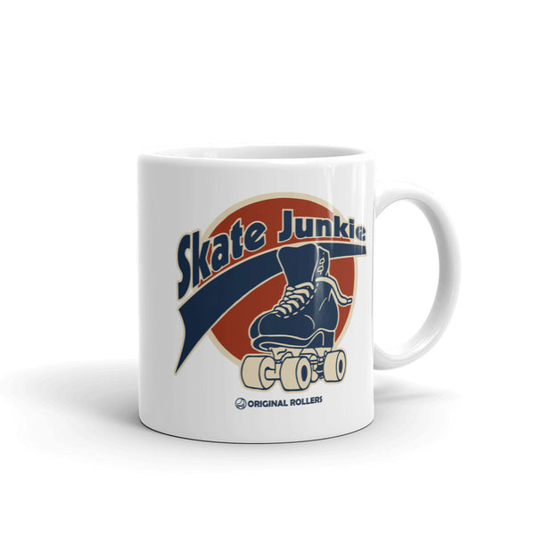 Skate Junkie Mug - rob-scott-creates-original-rollers