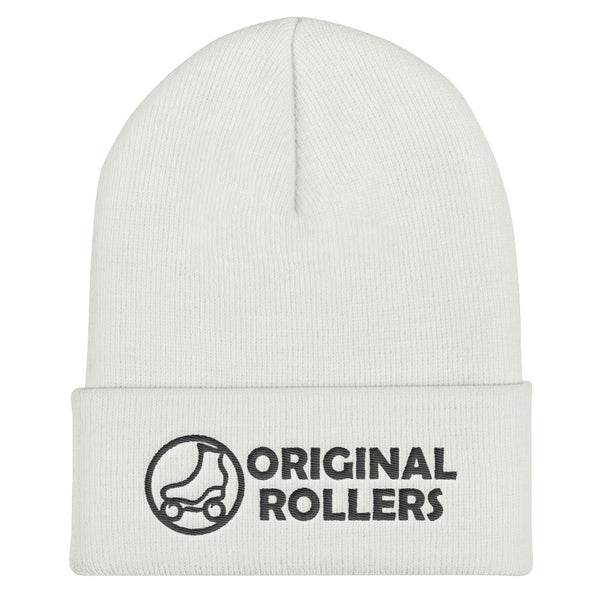 OR Logo2 Cuffed Beanie - rob-scott-creates-original-rollers
