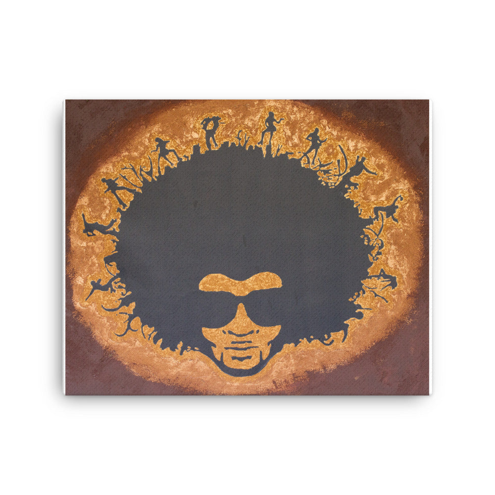 Soul Man Canvas print