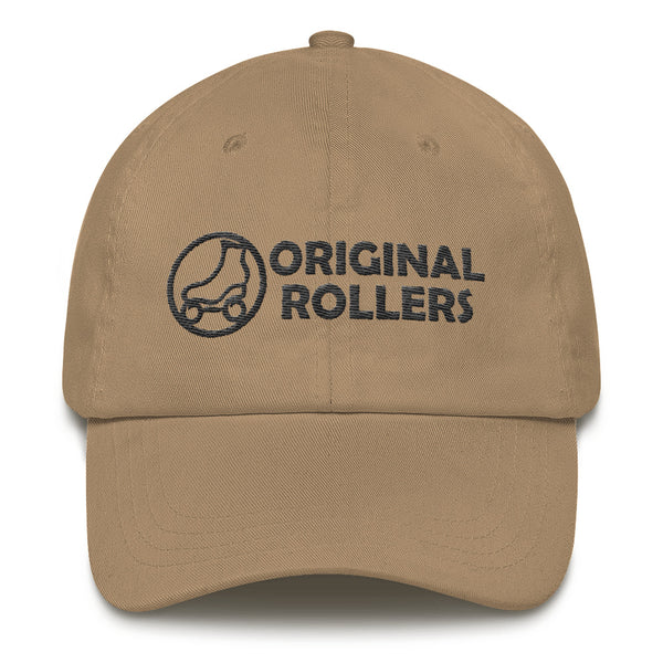 OR Logo2 Dad hat - rob-scott-creates-original-rollers