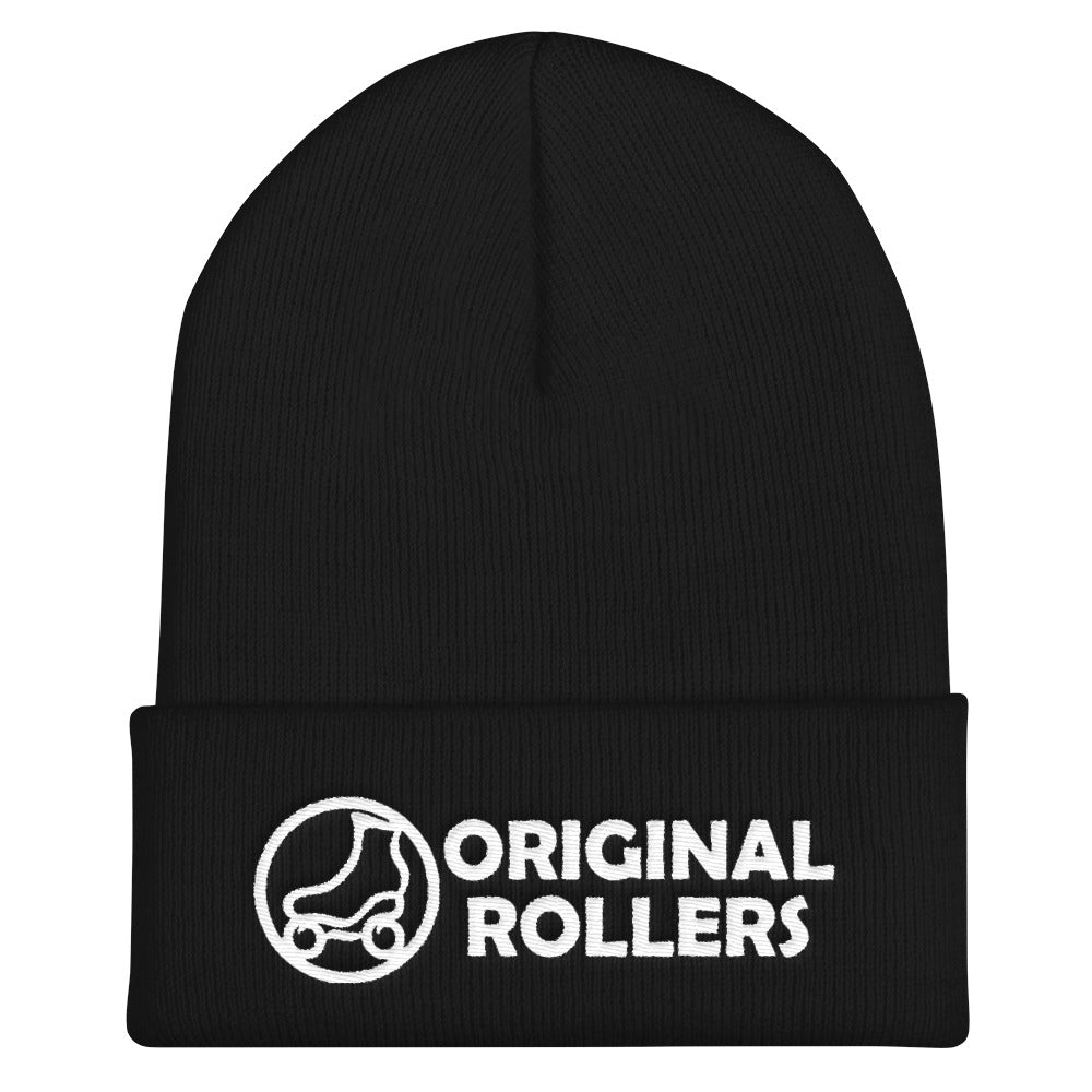 OR Logo1 Cuffed Beanie - rob-scott-creates-original-rollers