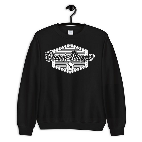 Chronic Shopper Unisex Sweatshirt
