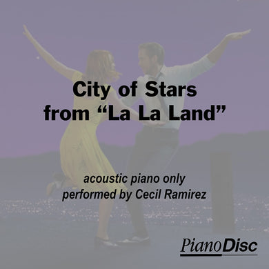 City of Stars - from La La Land