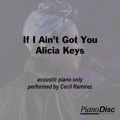If I Ain't Got You - Alicia Keys