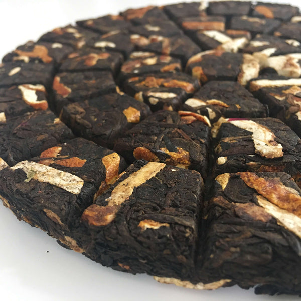 Sun Dried Mandarin Orange Peel Shou Pu Erh