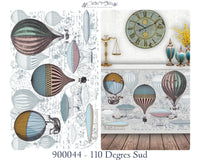 Hokus Pokus Decorative Transfer - 110 Degres Sud 94cm x 60cm