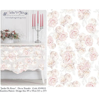 Hokus Pokus Decorative Transfer - Jardin de Roses