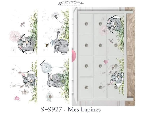 Hokus Pokus Decorative Transfer - NEW Mes Lapines