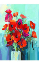 Poppies Decoupage Paper