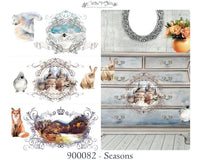NEW Hokus Pokus Decorative Transfer - Seasons