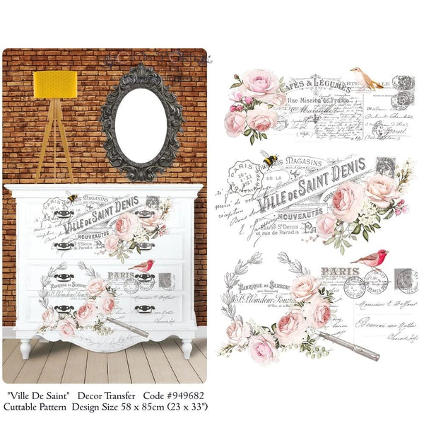 Hokus Pokus Decorative Transfer - Ville De Saint