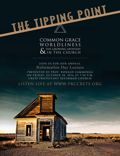 The Tipping Point: Common, Grace, Worldliness, and the Growing Apostasy in the Church