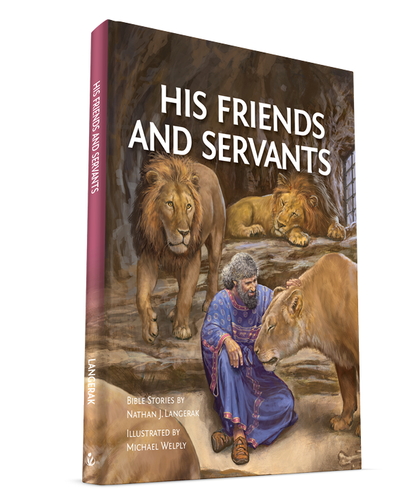 Our newest Bible story book is here!