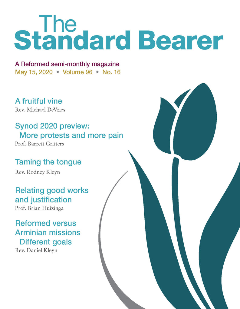 May 15, 2020 Standard Bearer issue is now available!