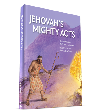 Our newest bible story book is now available for purchase!