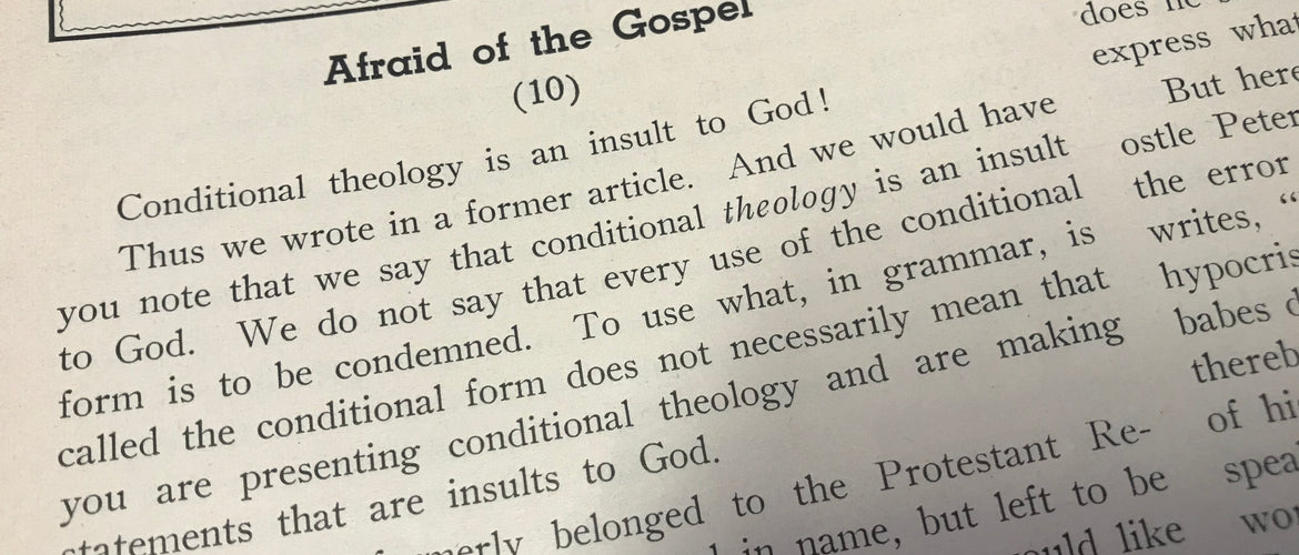 Afraid of the Gospel (10)