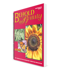 Behold the Beauty - Art Curriculum (Kindergarten & First Grade)