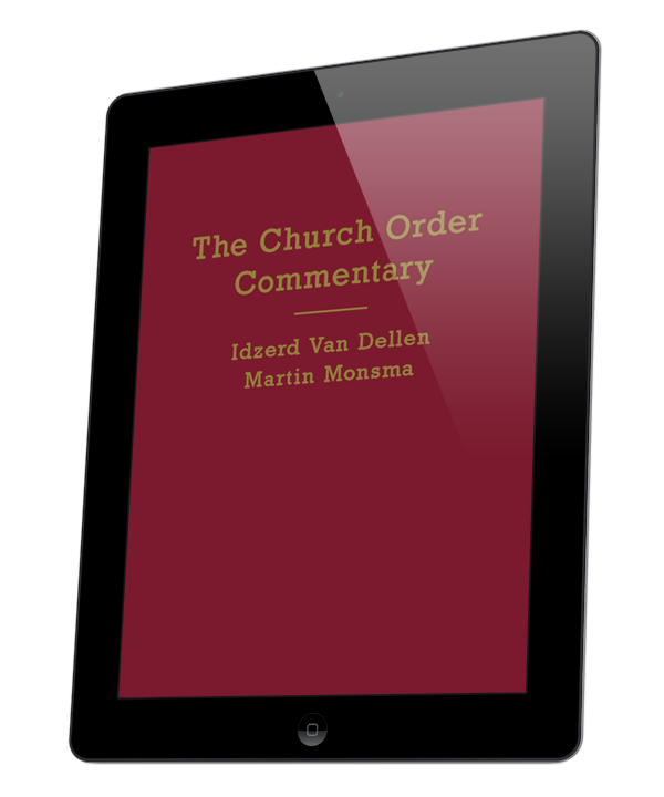 Church Order Commentary, The (ebook)