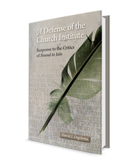 Defense of the Church Institute, A