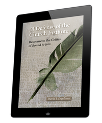 Defense of the Church Institute, A (ebook)