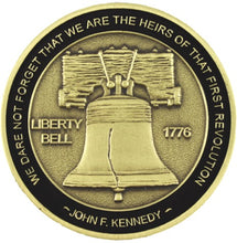 Load image into Gallery viewer, Dont Tread on Me Challenge coin