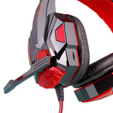 Game Headset LED Light Noise-Cancelling HD Mic Over-ear Headphone - hobbyola