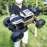 RC Car Electric 1/8 Monster Off-Road Vehicles 60km/h 2.4G 4WD RTR Model - hobbyola