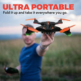 UAV Drones RC Quadcopter F111WF RTF Foldable WiFi FPV Camera Funny Games - hobbyola
