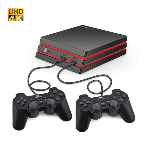 Retro Video Game Console 64 Bit 4K HDMI TV Output Built-in 600 Classic Games - hobbyola
