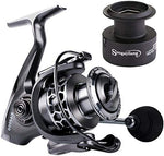 Fishing Reel 13+1BB Light Weight Ultra Smooth Aluminum Spinning Fishing Reel - hobbyola