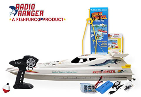 "Outdoor 34"" Remote Control Fishing Boat With Radio Ranger 2.4Ghz - hobbyola"